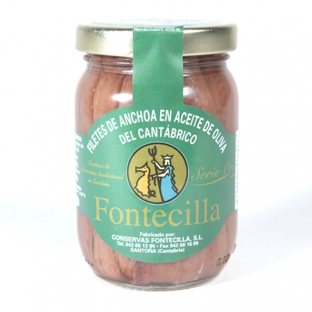 Anchoas de Santoña tarro 210 gr.
